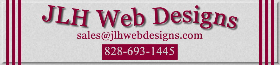 Custom Web Designs - Joomla Web Developer - Wordpress Web Developer - in Asheville NC | Hendersonvile NC | Greenville SC